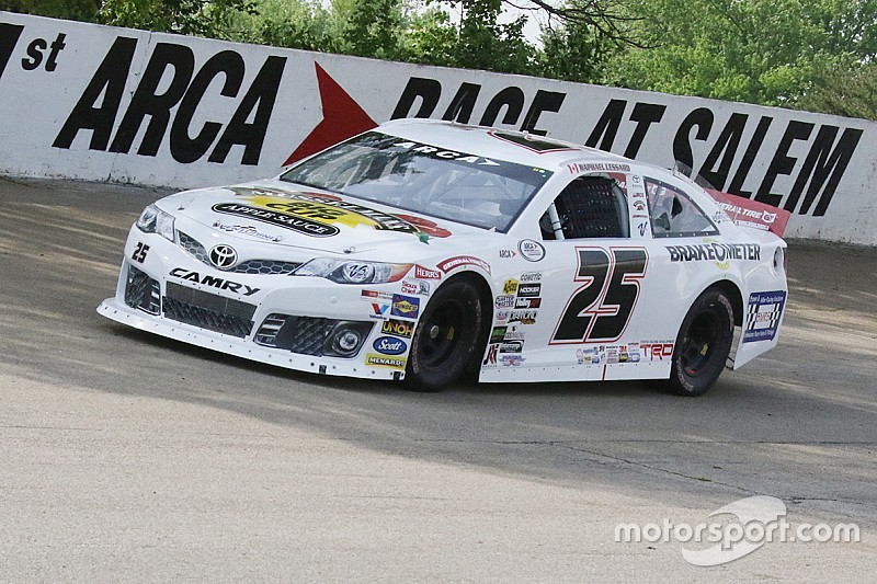 Raphaël Lessard takes 13th in ARCA debut