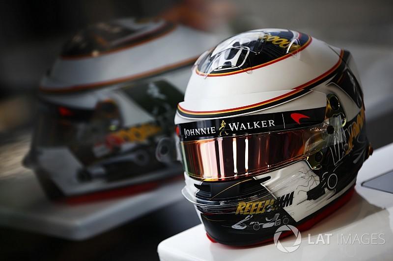 Photos - Le casque spécial de Stoffel Vandoorne à Spa
