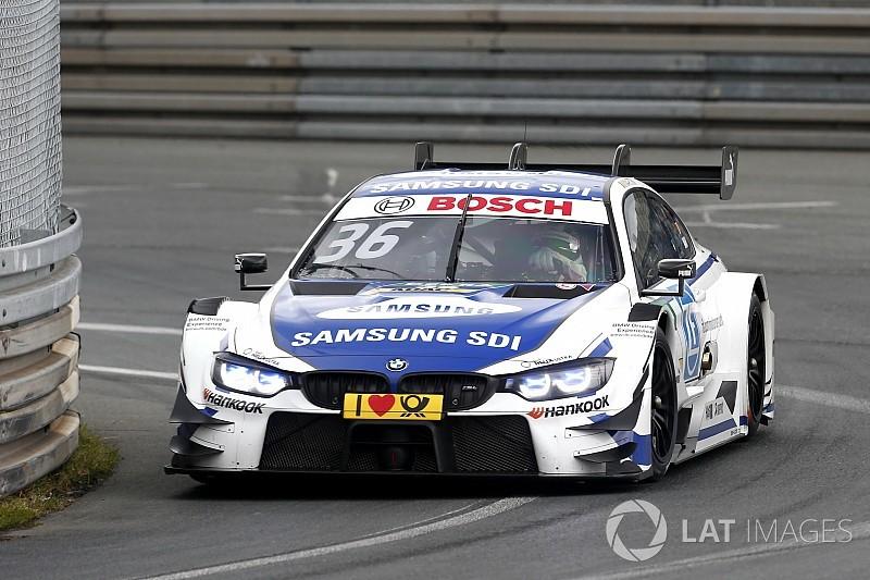 Martin se lleva la victoria en una complicada segunda carrera en Norisring