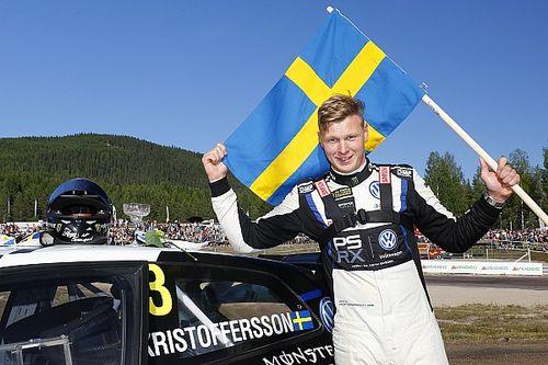 Kristoffersson s'imposeà domicile, Loeb sur le podium
