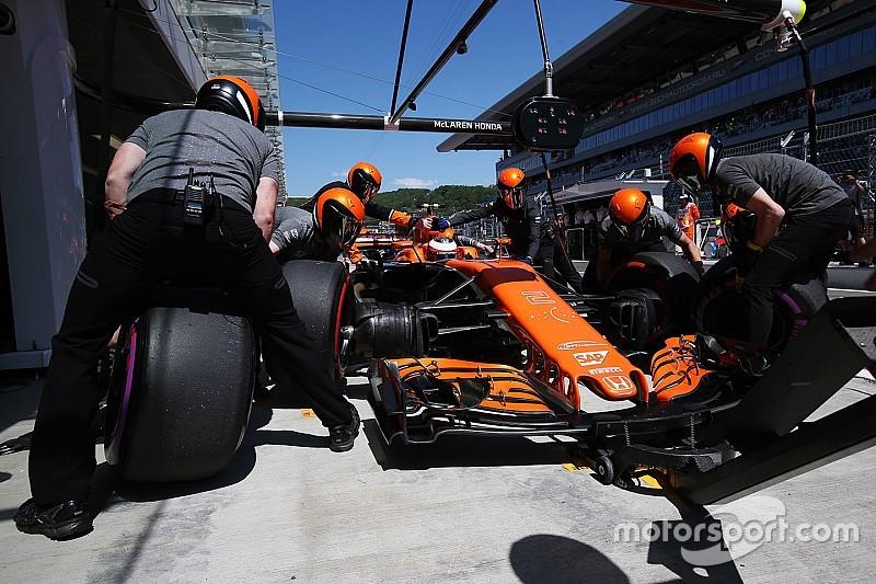 Les trains de pneus par pilote pour le GP de Russie