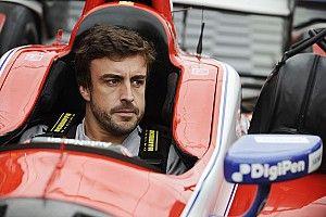 Fotogallery: la prima volta di Alonso su una monoposto IndyCar