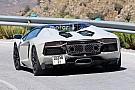 Auto Lamborghini prépare une Aventador plus performante