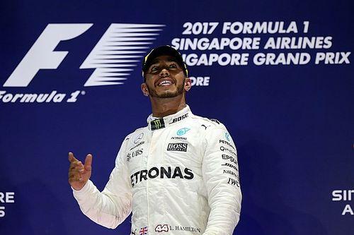 """Hamilton geeft masterclass: """"Dit waren echt mijn omstandigheden"""""""