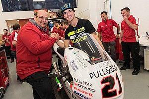 Mahindra gifts Bagnaia his 2016 Moto3-winning bike