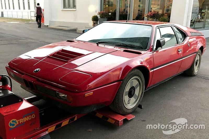 Trente ans après, une BMW M1 sort de l'oubli
