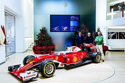 Fotogallery: il pranzo di Natale della Ferrari a Maranello