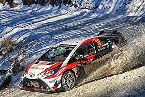 【WRC】開幕戦Day2トヨタ:好調さが続きラトバラが総合4番手に浮上