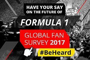 Motorsport Network запускает второй глобальный опрос болельщиков Формулы 1