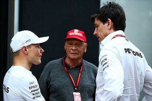 Lauda aún no piensa en una extensión de contrato para Bottas
