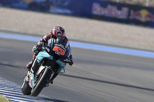 Quartararo vê erro de Viñales e é pole do GP da Andaluzia; Márquez não participa de treino