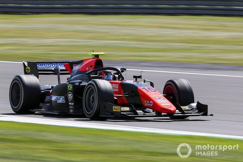 Silverstone F2: impresionante pole de Drugovich por delante de Ilott y Schumacher