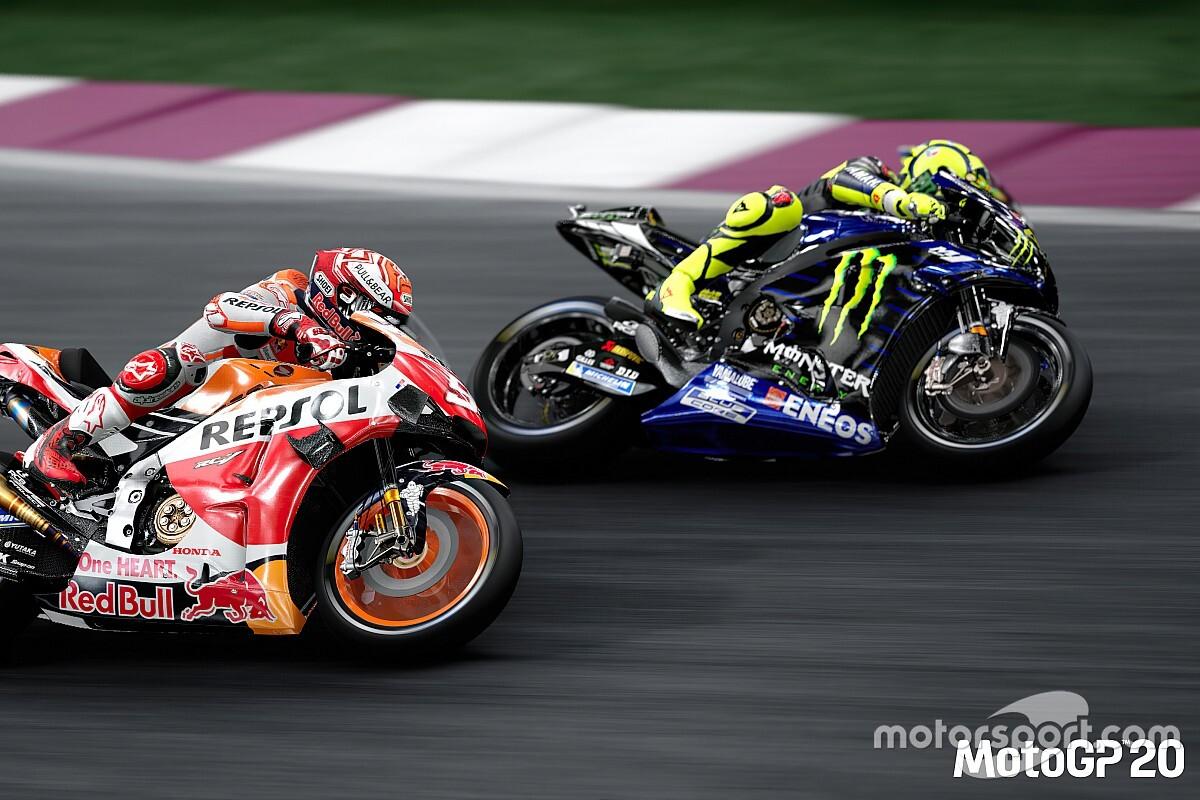 Valentino Rossi regresa al MotoGP virtual el domingo