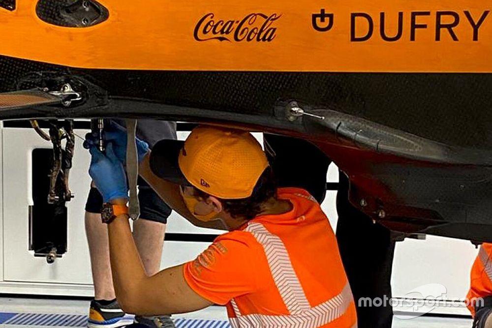 Norris y el por qué de su ayuda a los mecánicos de McLaren