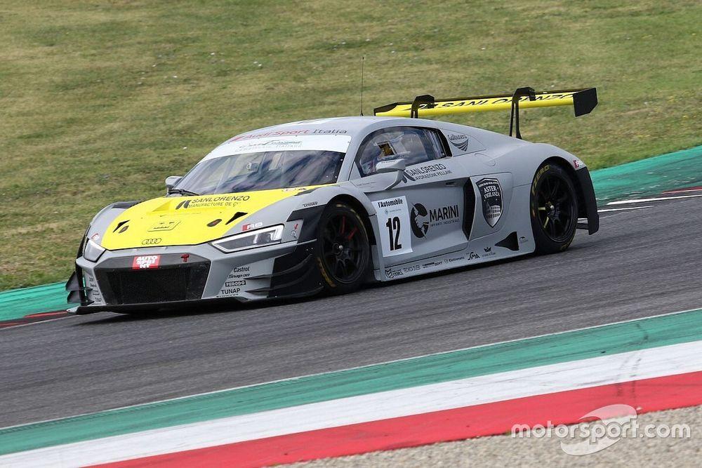 GT Italiano, Mugello, Libere 1: Audi subito in vetta