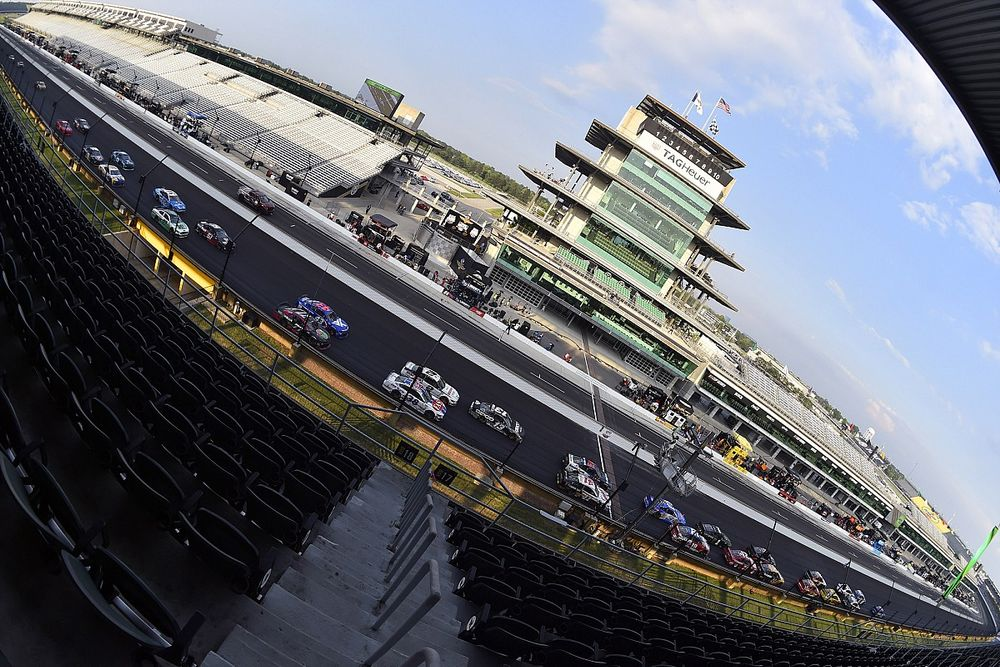 What time and channel is the NASCAR race at Indianapolis?