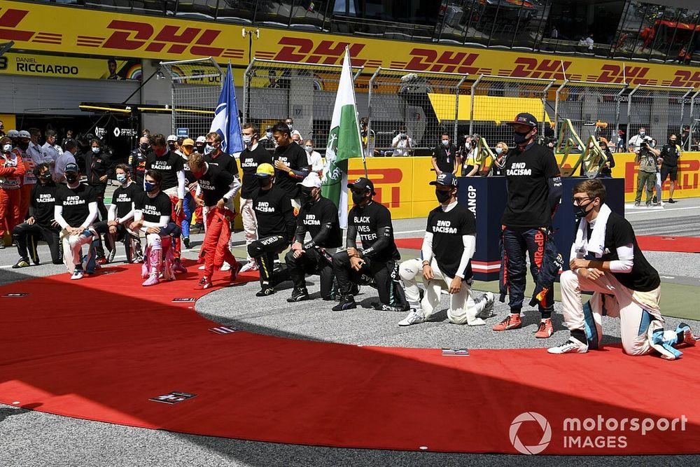 """Vettel: FIA et F1 ont """"laissé tomber"""" les pilotes sur l'antiracisme"""