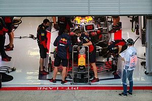 Red Bull broke F1 curfew to conduct set-up work
