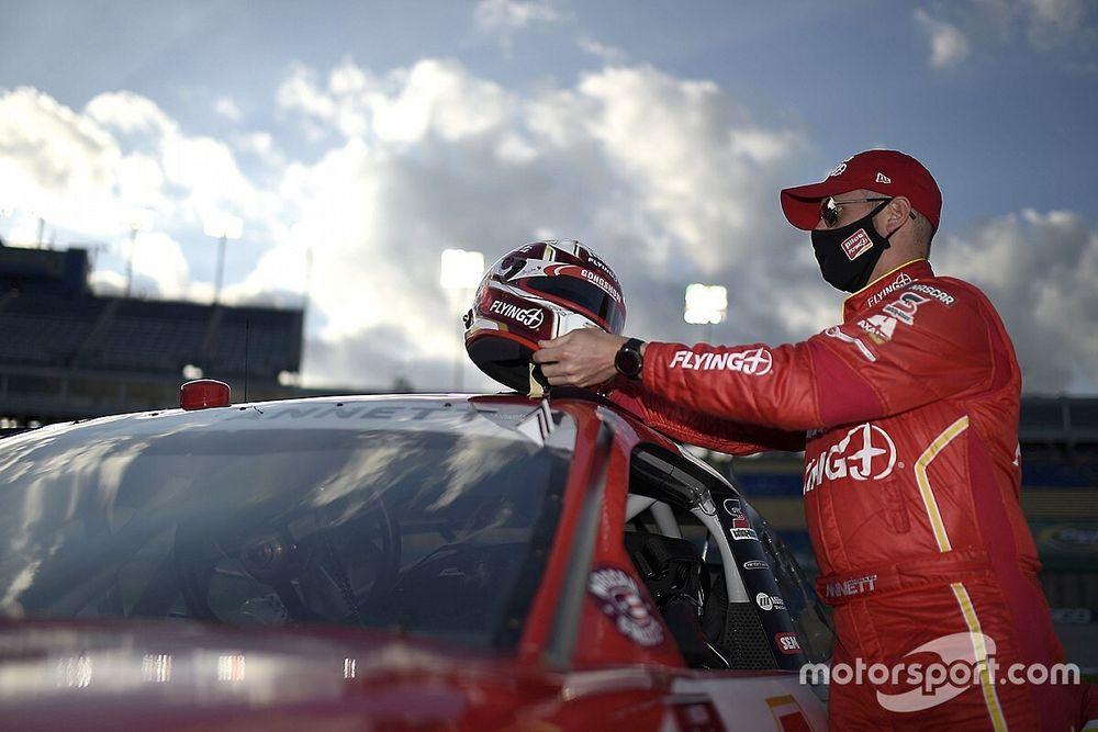Playoff driver Michael Annett DQ'd from Talladega Xfinity race