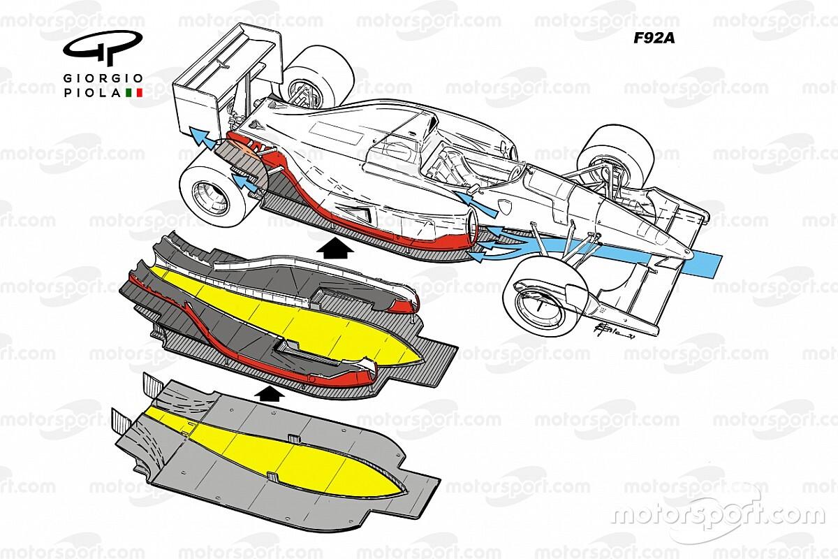 Az 1992-es Ferrari F92A kudarcának igazi története a Forma-1-ben