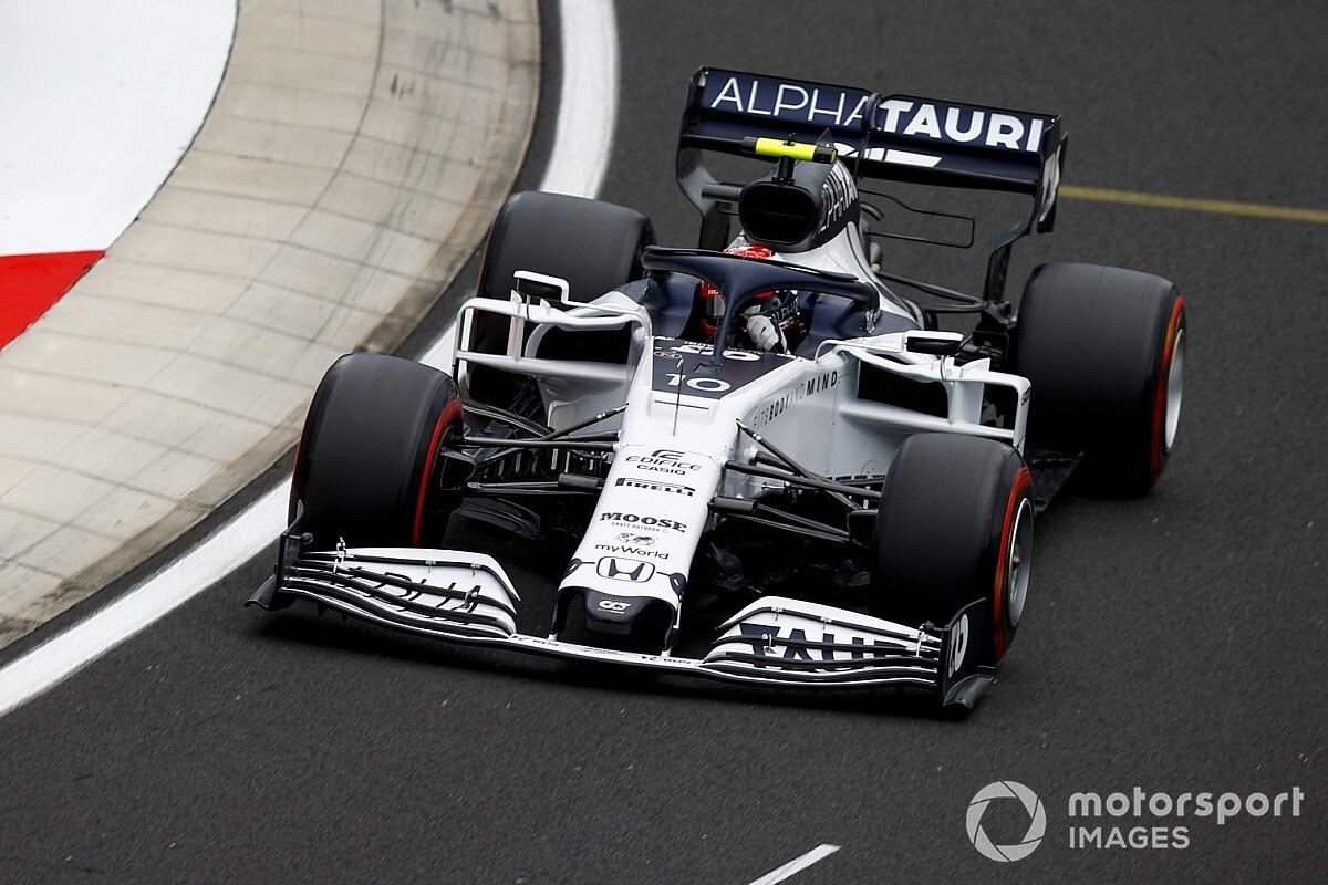 F1: AlphaTauri cambia la power unit sulla AT01 di Gasly