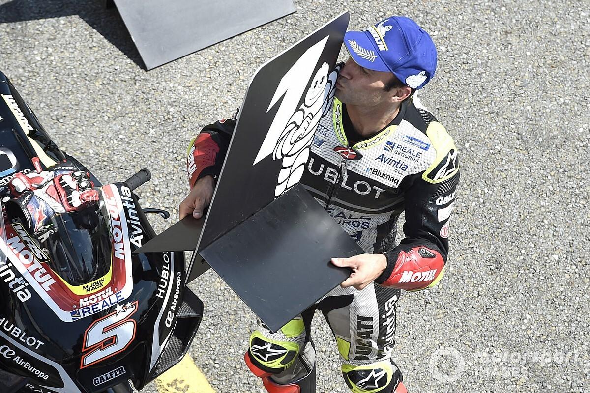 Zarco consuma la pole position en Brno