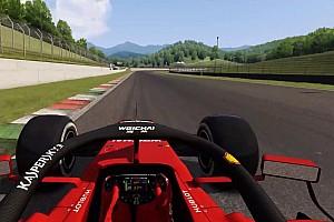 Vidéo - Un tour virtuel du Mugello en Ferrari SF90