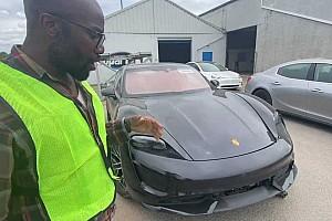 Amerika egyik leghíresebb szerelője állhat neki helyrepofozni ezt a rommá tört Porsche Taycant