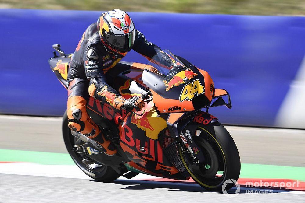 Espargaro wil zich op de KTM graag meten met Marquez