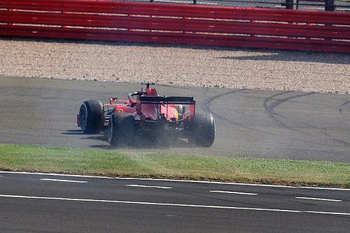 Binotto: el trompo complicó a Vettel, no la estrategia