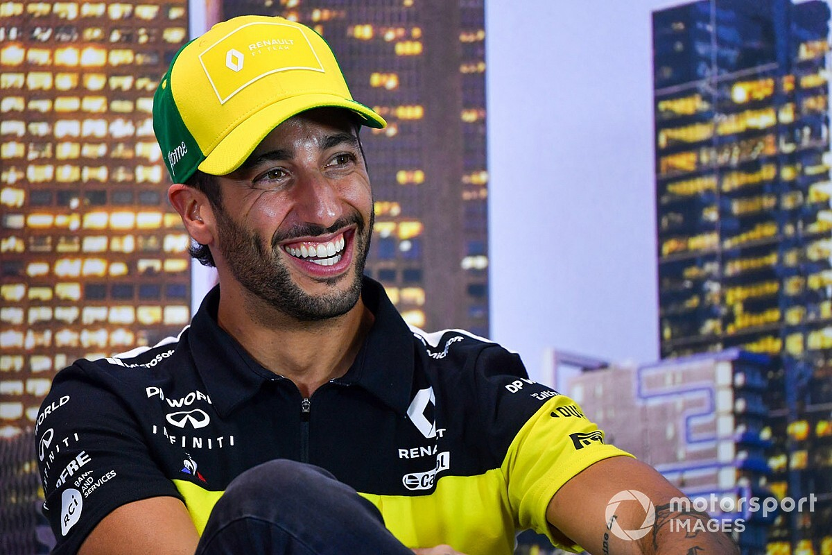 Ricciardo: F1 hiatus may help me prolong my career