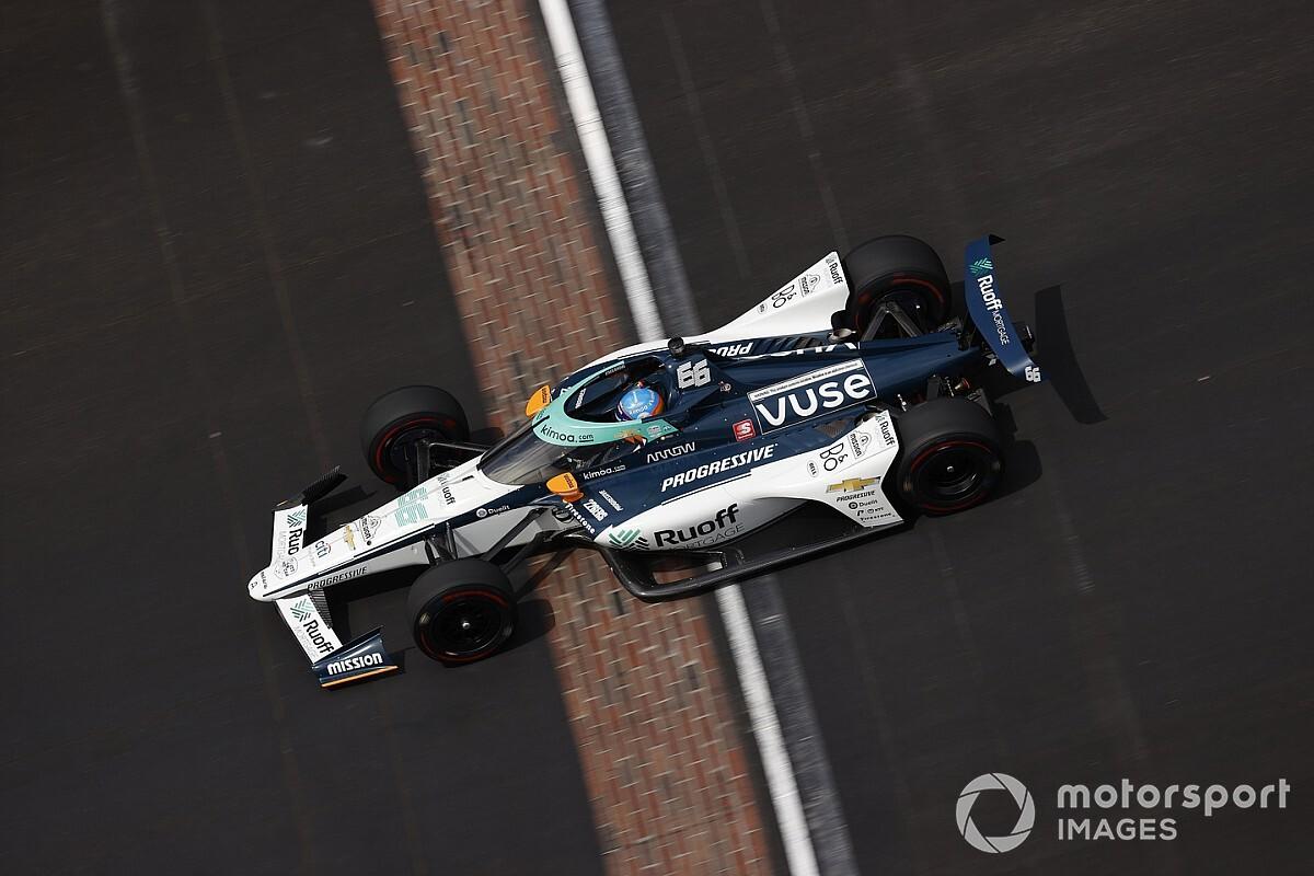 Indy 500: productiva penúltima sesión de libres para Alonso y Palou