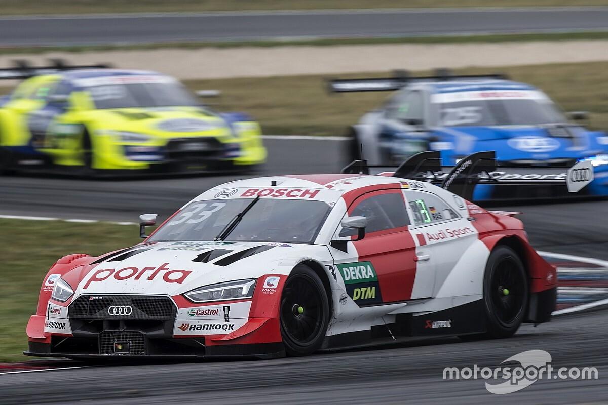DTM Lausitzring: Rast zegeviert in spektakelstuk, Frijns vierde
