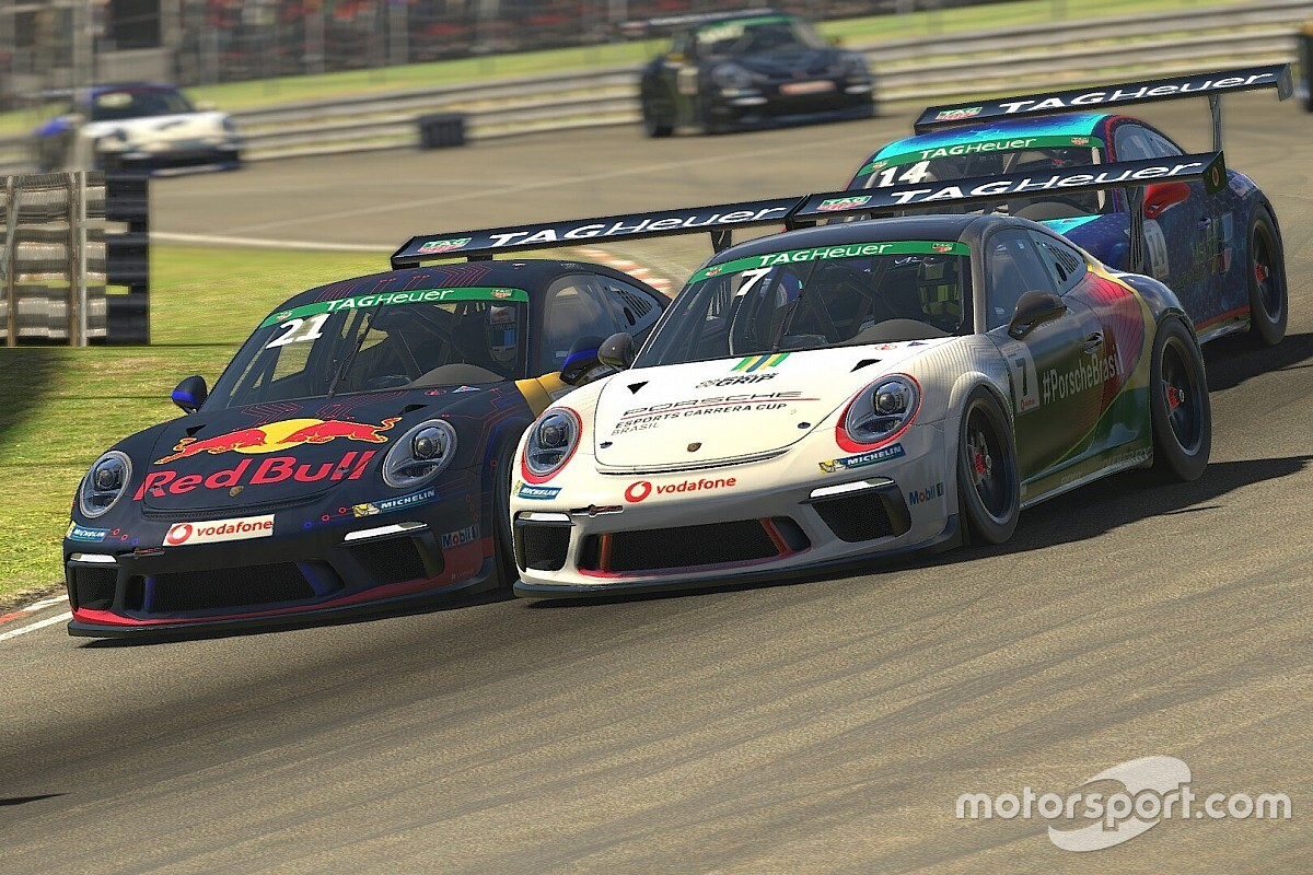 Jeff Giassi tem dura etapa no Porsche TAG Heuer Esports Supercup