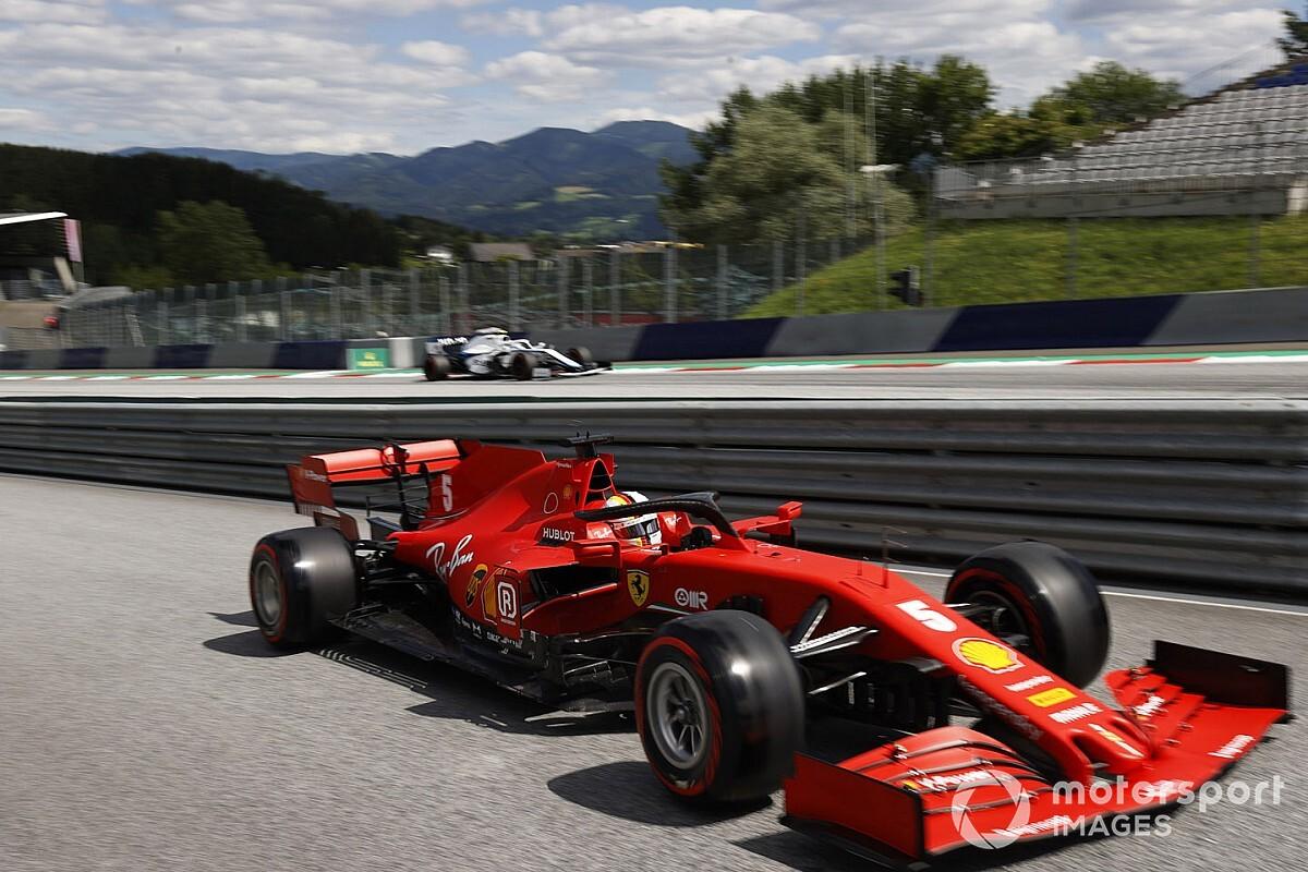 """Vettel: """"Estoy feliz de haber trompeado solo una vez..."""""""