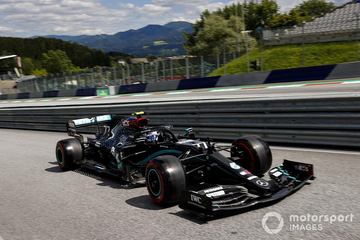 "Mercedes in its ""own league"" in Austria, admits Bottas"