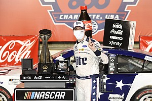 Brad Keselowski holds off Johnson in OT for Coke 600 win