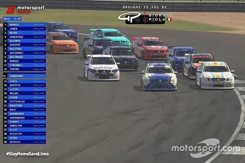 Norris afirma preferir ambiente mais sério dos eventos da Veloce/Motorsport Games