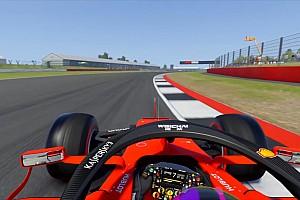 Así sería recorrer los circuitos de F1 en dirección contraria (Vídeos)