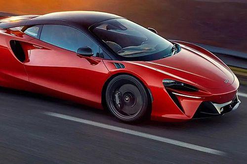 Следом за новым болидом McLaren показал новый суперкар