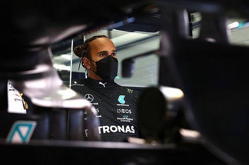 """Hamilton : """"Actuellement, nous ne sommes pas les plus rapides"""""""
