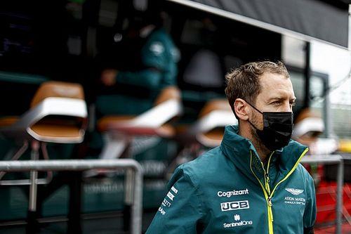 """فيتيل """"لا يؤنب نفسه"""" حيال معاناة أستون مارتن في الفورمولا واحد"""