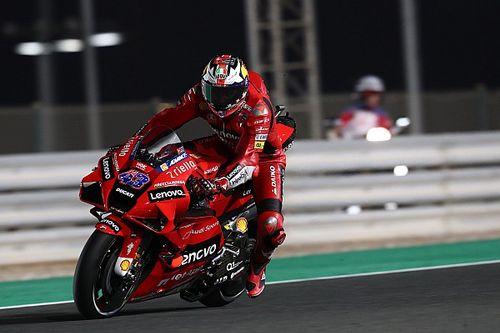 MotoGPドーハFP2:アタック合戦をミラー制しトップ。中上貴晶は転倒でQ2進出圏外に