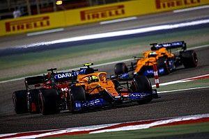 McLaren Puji Kinerja Norris-Ricciardo