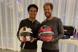 """Perez blij voor Vettel: """"Gaat naar team van pure racers"""""""