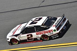 Keselowski fastest in Saturday's abbreviated first Cup practice