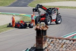 """F1: Pérez e Ocon classificam incidente no TL1 de """"infelicidade"""" e ambos escapam de punição"""