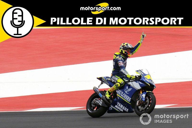 """Podcast: Jerez 2005, la """"spallata"""" vincente di Valentino Rossi"""