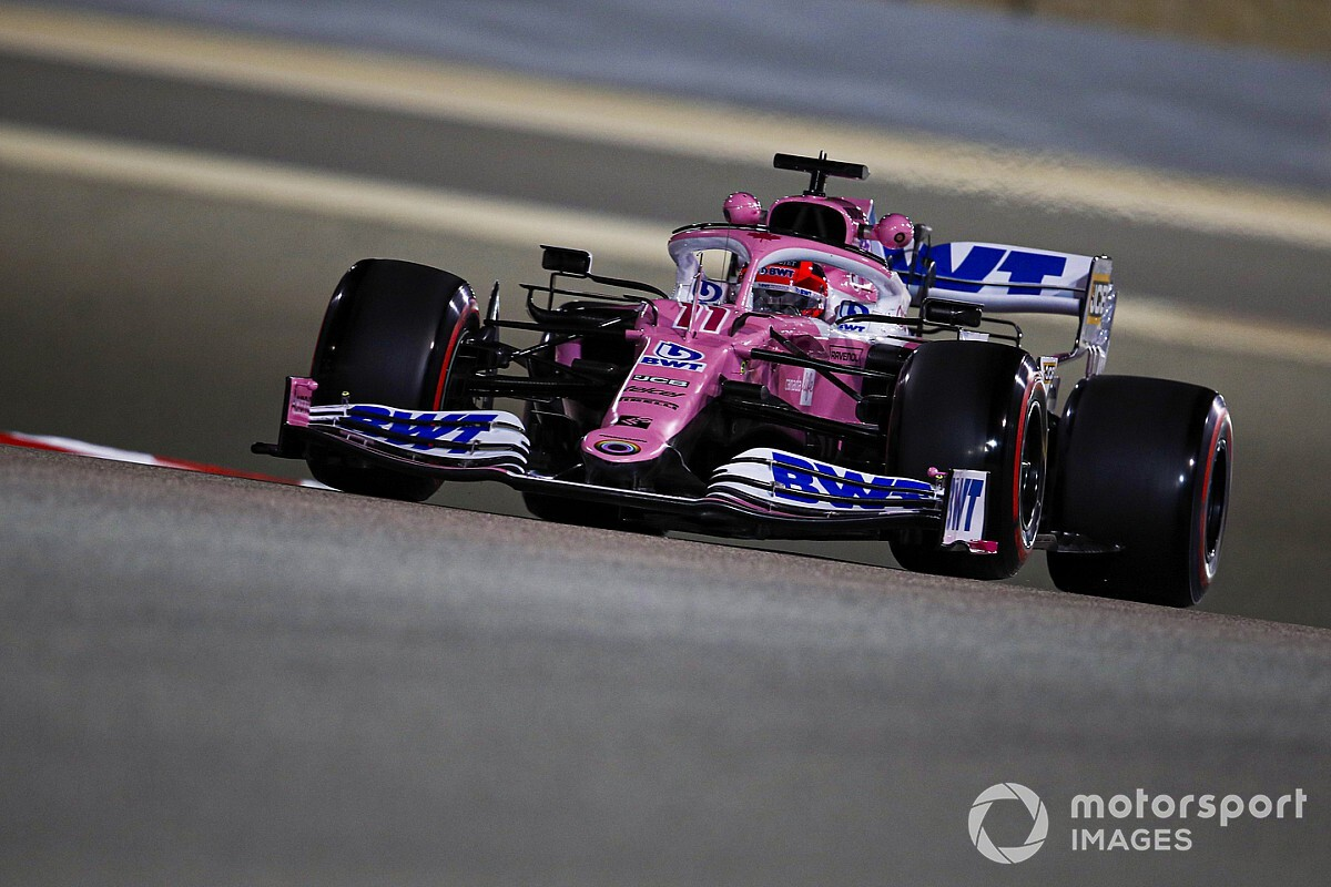 """Perez """"suffering"""" with old engine in Sakhir GP weekend"""