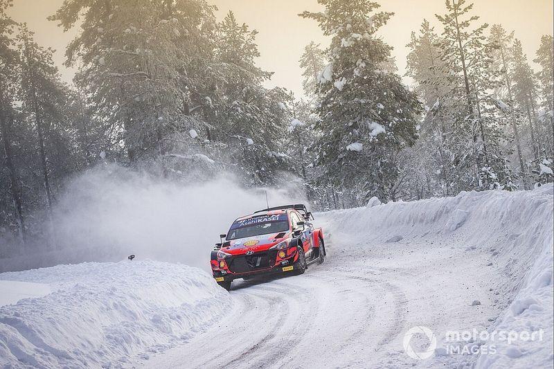 VIDEO: Tänak breidt voorsprong uit op dag 2 Arctic Rally Finland